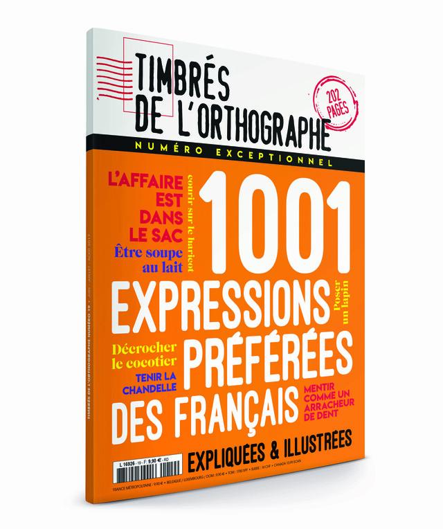 N°19 Timbrés de l'orthographe - numéro exceptionnel -  - Les Éditions de l'Opportun