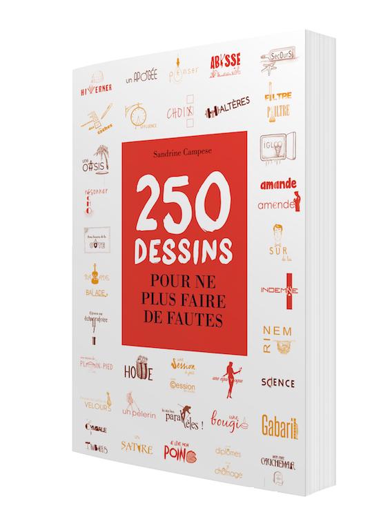 250 dessins pour ne plus faire de fautes - Sandrine CAMPESE - Les Éditions de l'Opportun