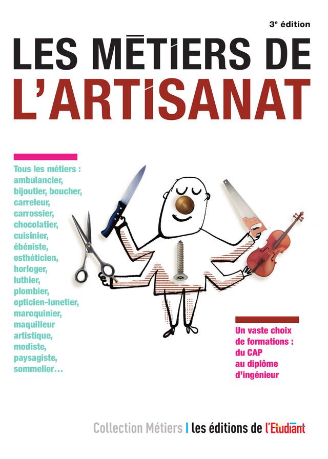 Les Métiers de l'artisanat - Daisy Le Corre - L'Etudiant Éditions