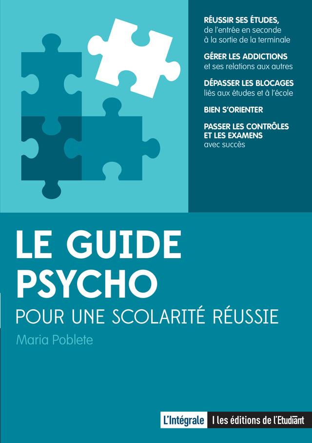 Le Guide psycho - Maria Poblete - L'Etudiant Éditions