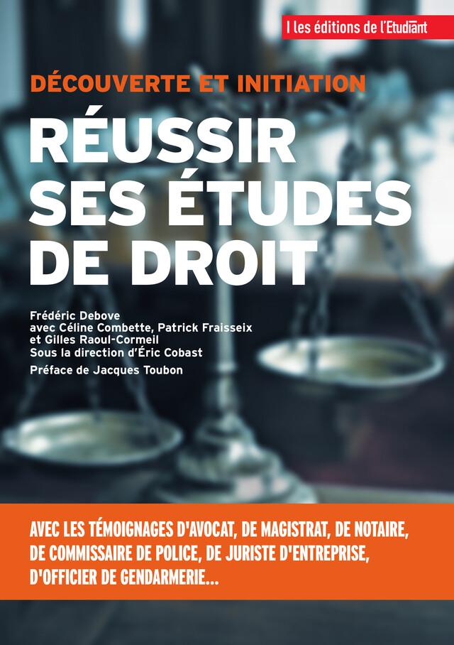 Réussir ses études de droit -  - L'Etudiant Éditions