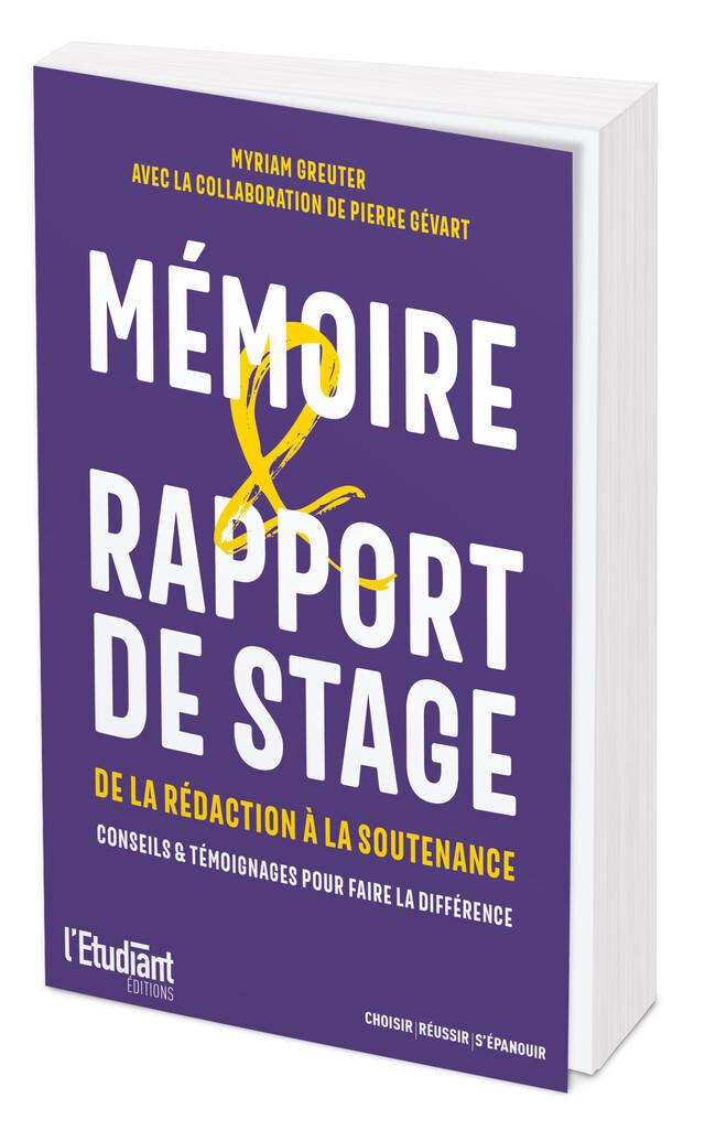 Mémoire & Rapport de stage -  - L'Etudiant Éditions