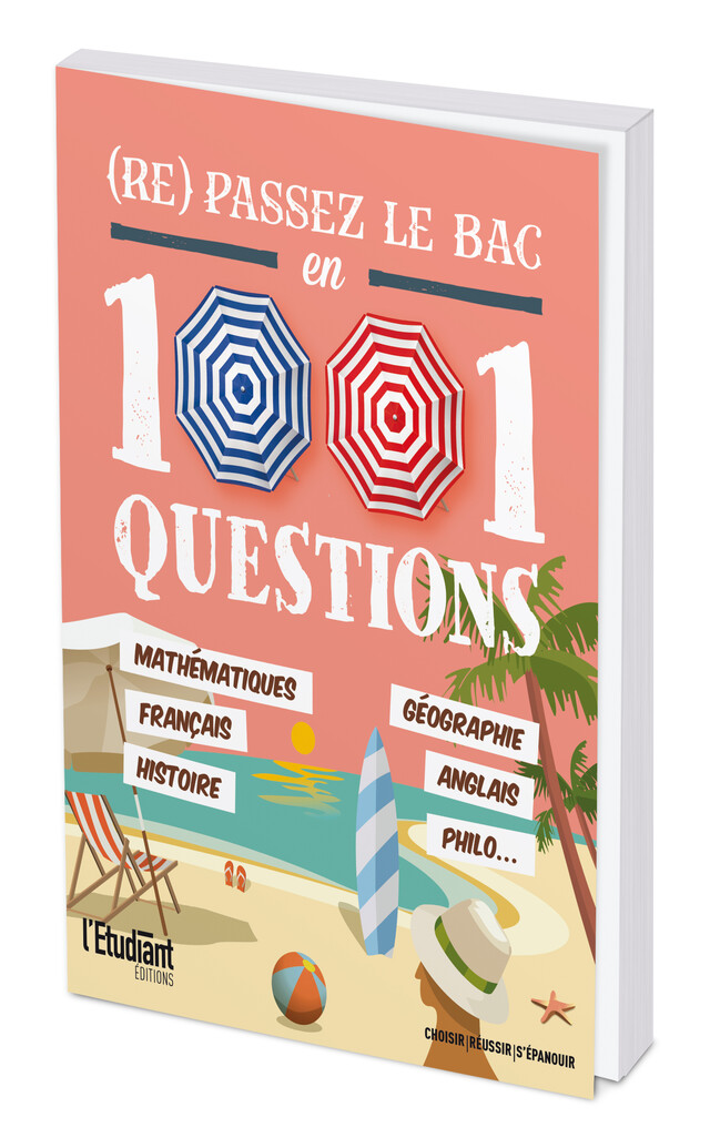 (Re)passez le bac en 1 001 questions -  Collectif - L'Etudiant Éditions
