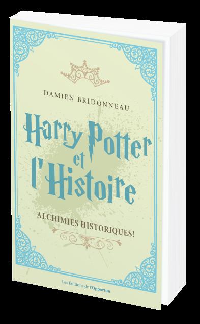 HARRY POTTER ET L'HISTOIRE - Damien BRIDONNEAU - Les Éditions de l'Opportun